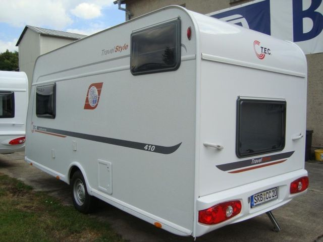 kompakter wohnwagen tec travel style 410 k 13134345. Black Bedroom Furniture Sets. Home Design Ideas