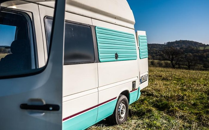 mercedes sprinter mit westfalia ausstattung in der james. Black Bedroom Furniture Sets. Home Design Ideas