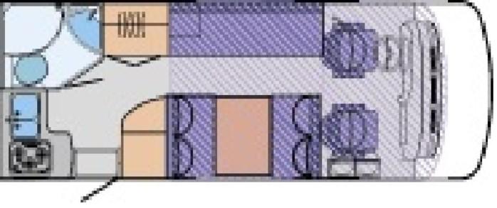 hymer camp star line 640 platz f r bis 27610994. Black Bedroom Furniture Sets. Home Design Ideas