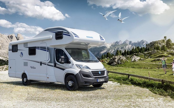 Reisemobil Etagenbett : Knaus sky traveller 600 dkg 98176736 campanda.de