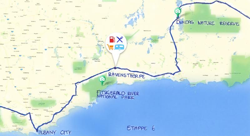 Datiert sich im Westen von Australien Funkzerfall datiert