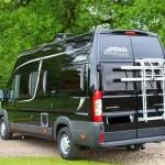 Campingbus Heckansicht