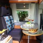 Dinette im Campingbus