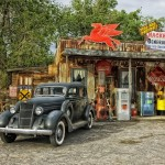 Petrol Station Route 66
