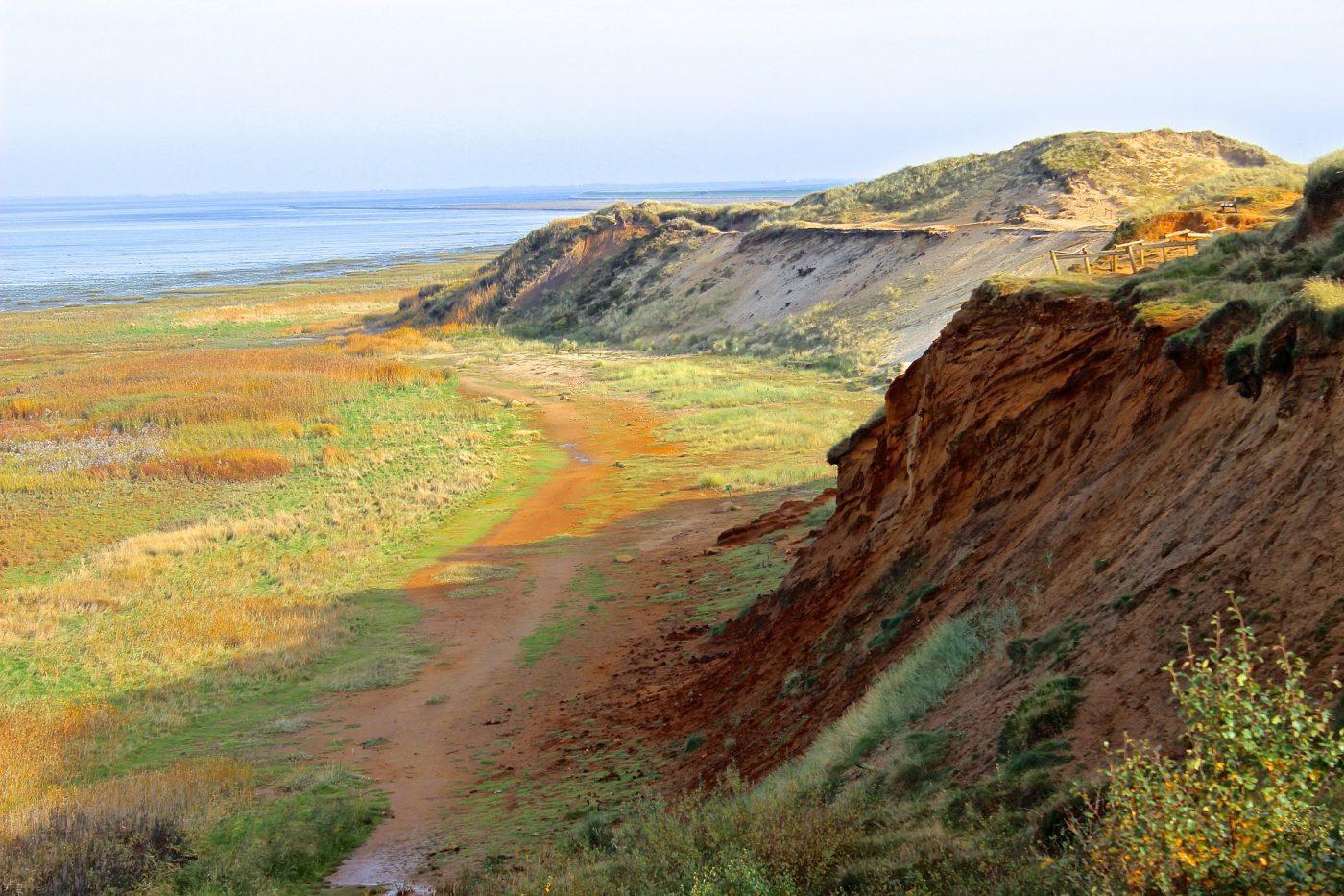 Rotes Kliff auf Sylt