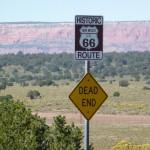 Verkehrsschild Route 66