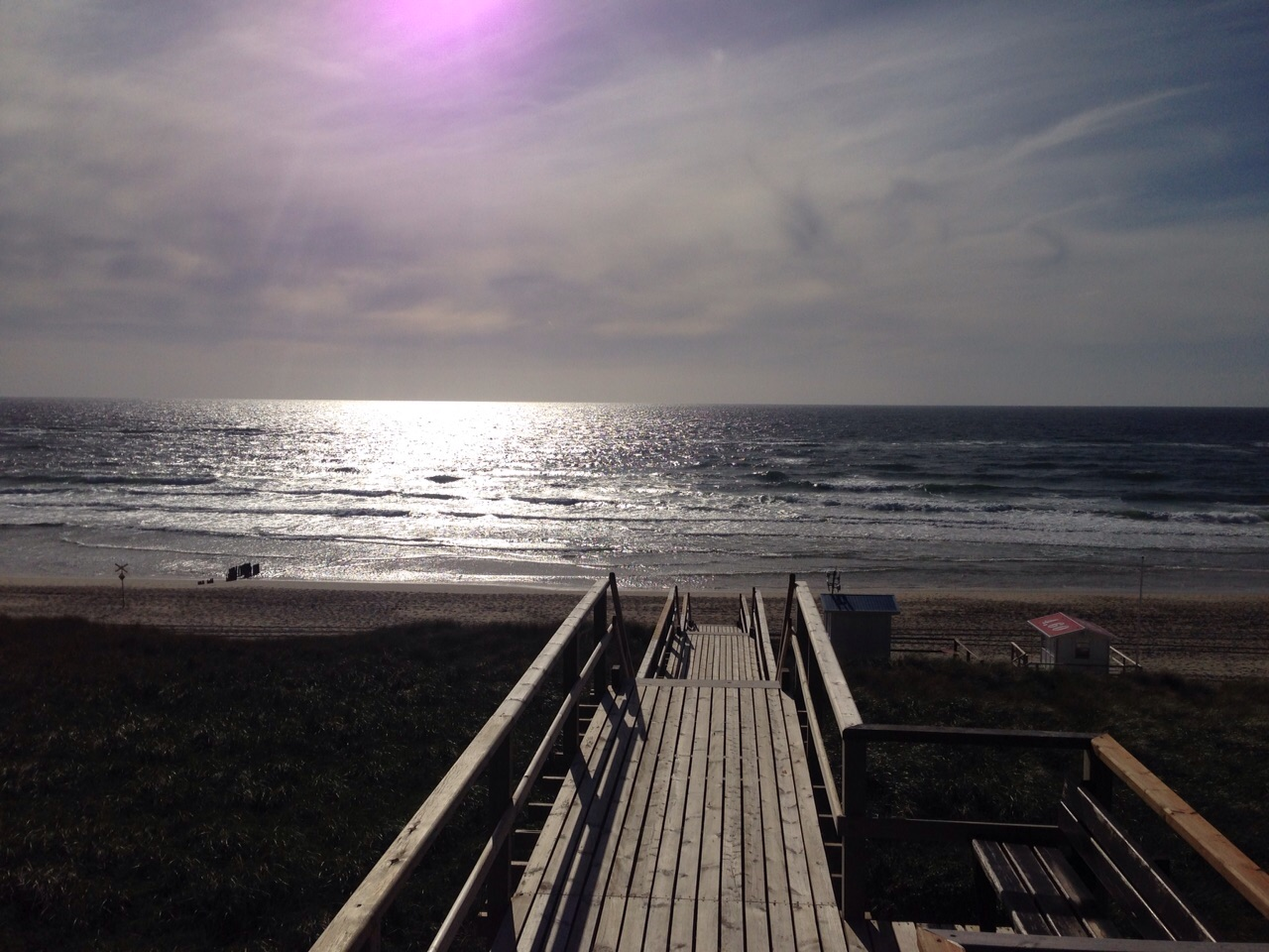 Westerland, Strandzugang