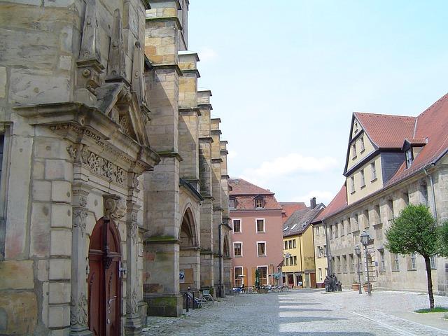 Die Innenstadt von Bayreuth