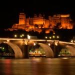 BW - Heidelberg bei nacht