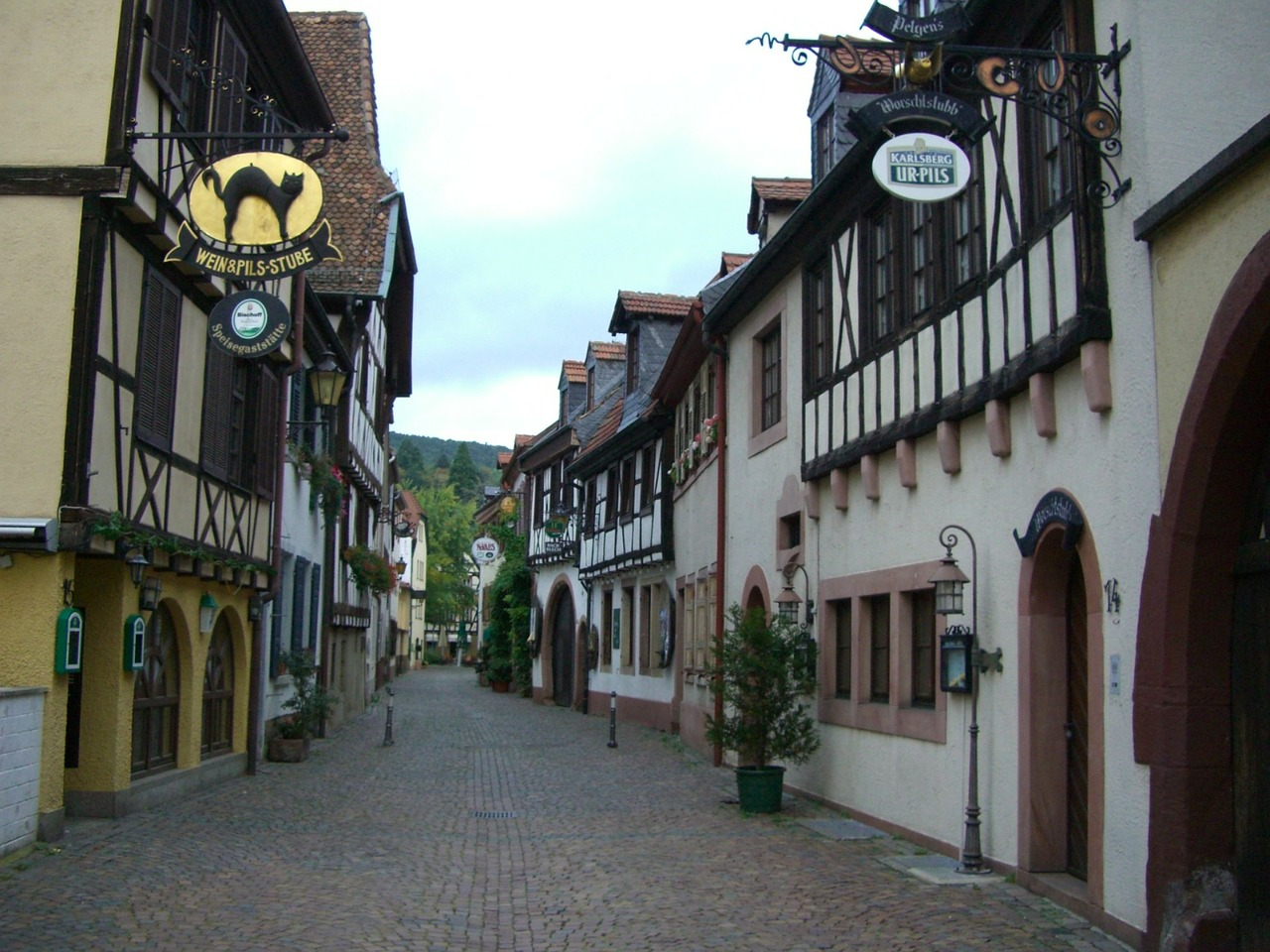 Gasse in Neustadt