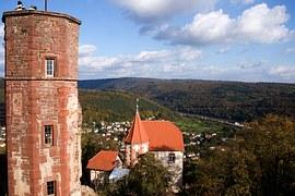Ausblick über den Odenwald