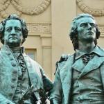 Weimar Goethe Schiller Denkmal