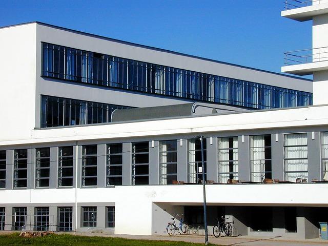 Haus im Bauhaus Stil