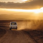 Wüste Wohnmobil