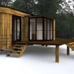 Plan Wohnwagon Terrasse