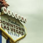 Las Vegas Begrüßungsschild