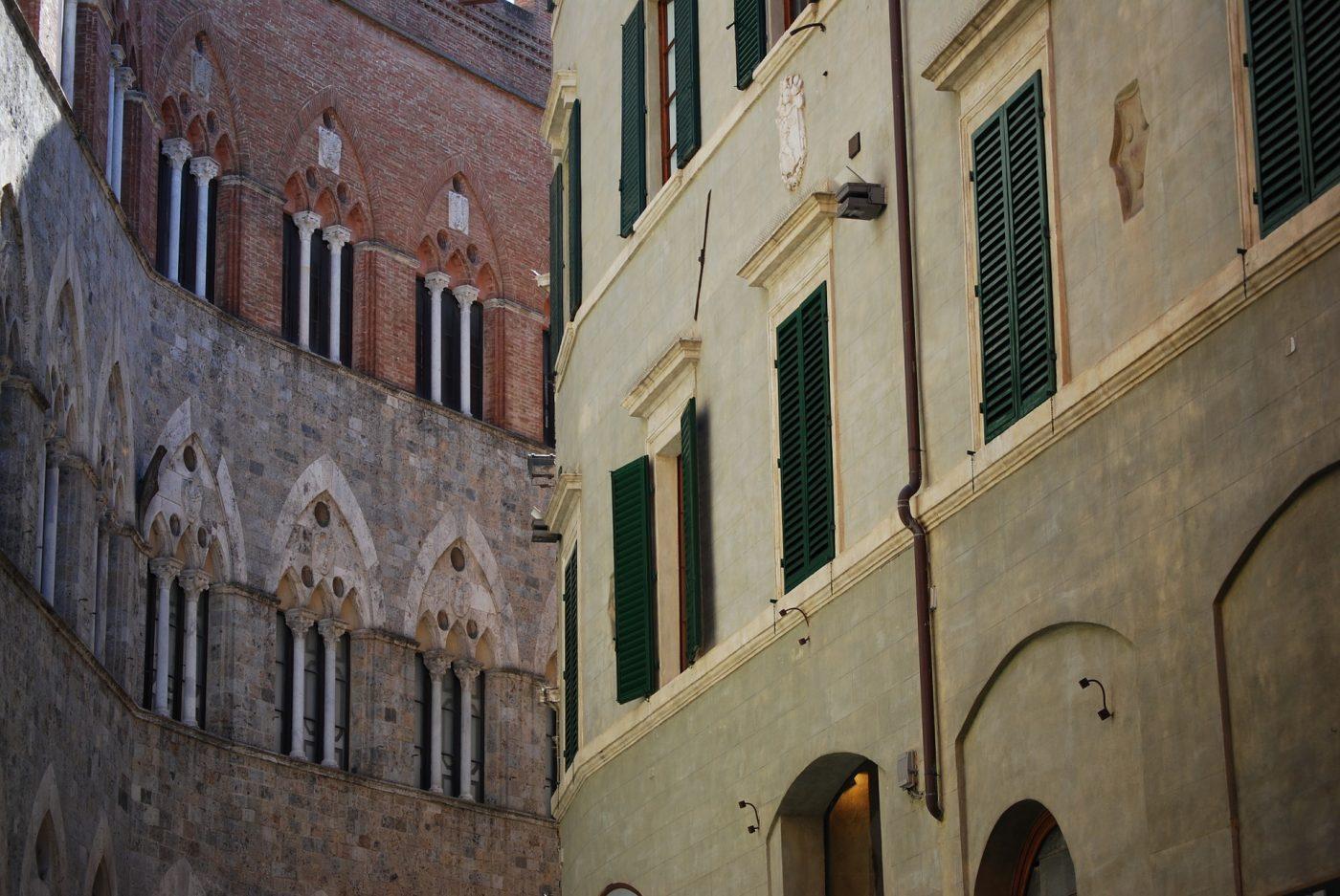 Siena Gebäude