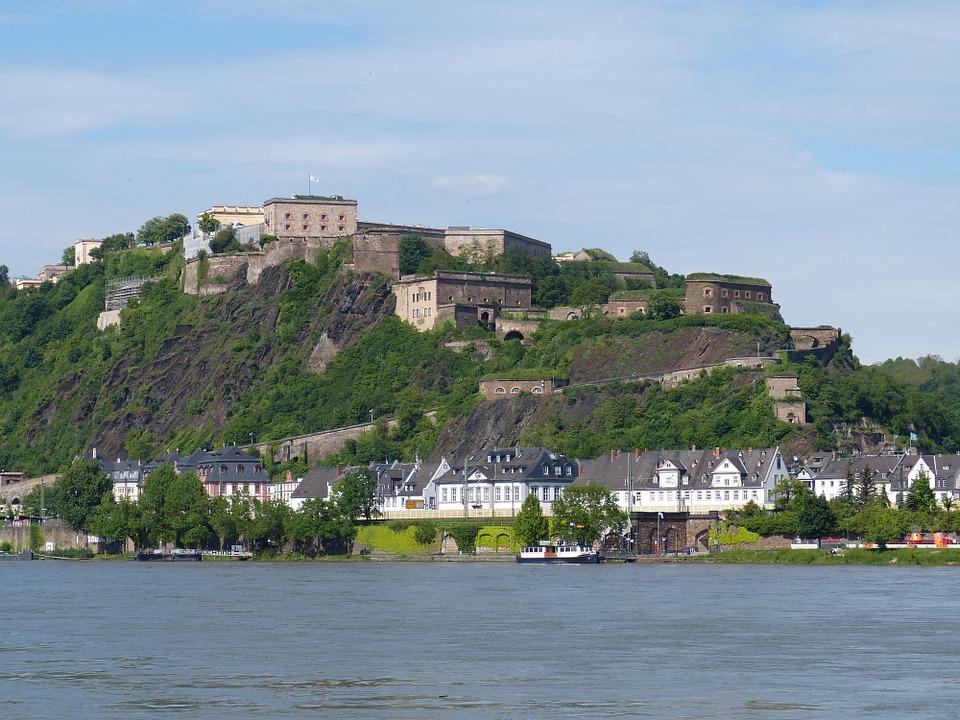 Burgmauern Koblenz