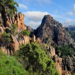 Calanche Felsen auf Korsika