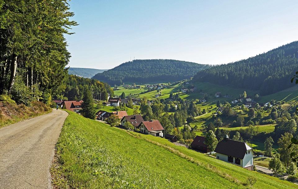 Fahrradweg Schwarzwald