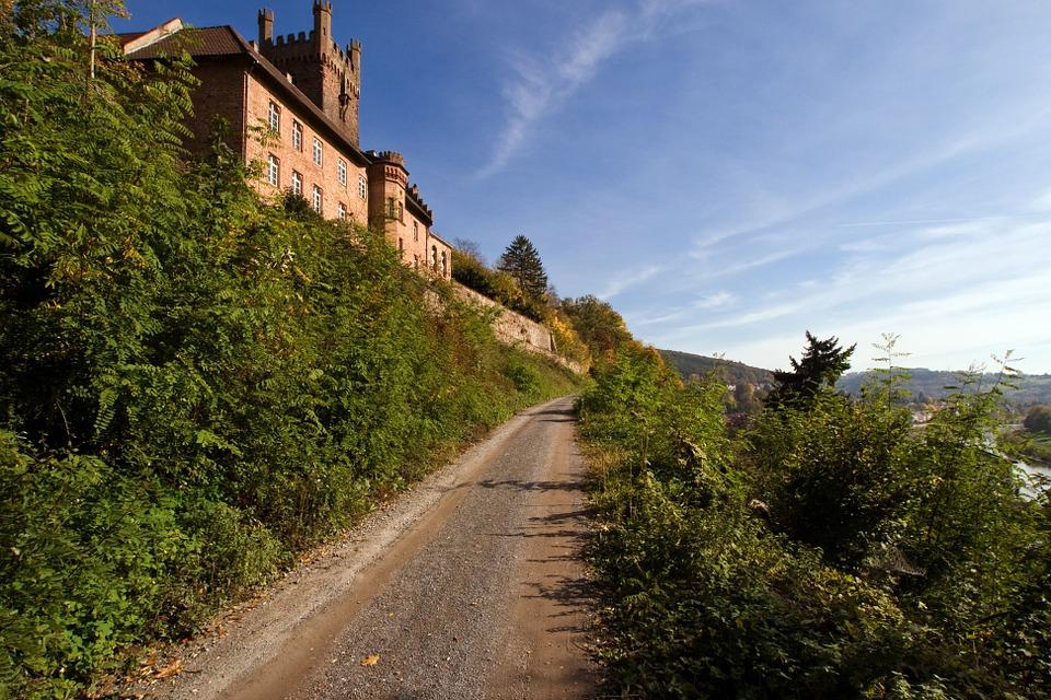 Feldweg Odenwald