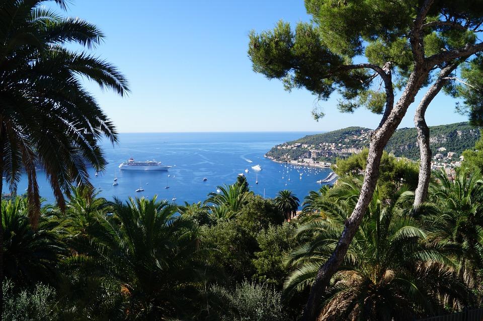 Bucht an der Cote d'Azur