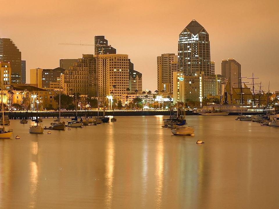 San Diego am Abend