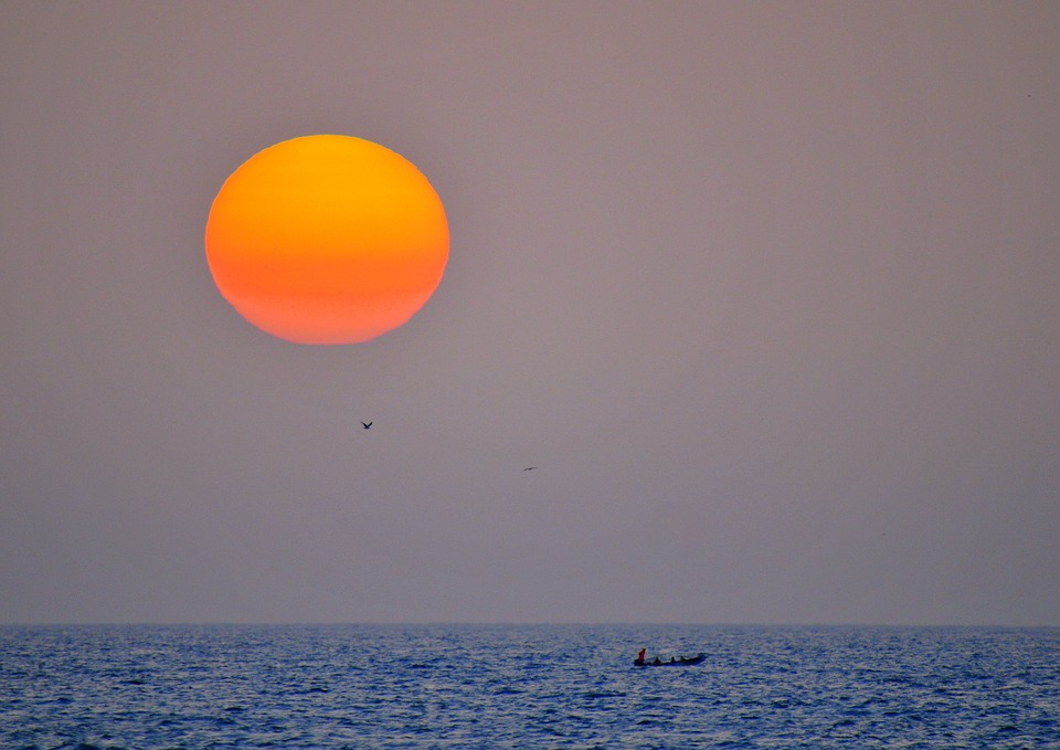 Sonnenuntergang Senegal