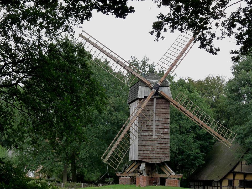 Windmühle Münsterland