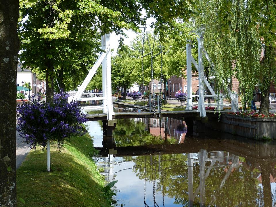 Brücke im Emsland