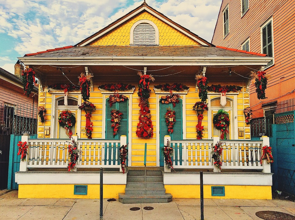 Buntes Haus New Orleans