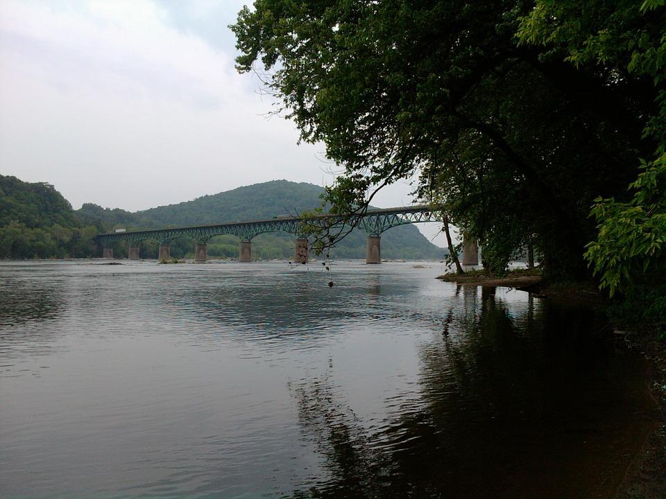 Lake Potomac Brücke