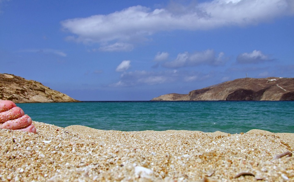 Strand an der Ägäis
