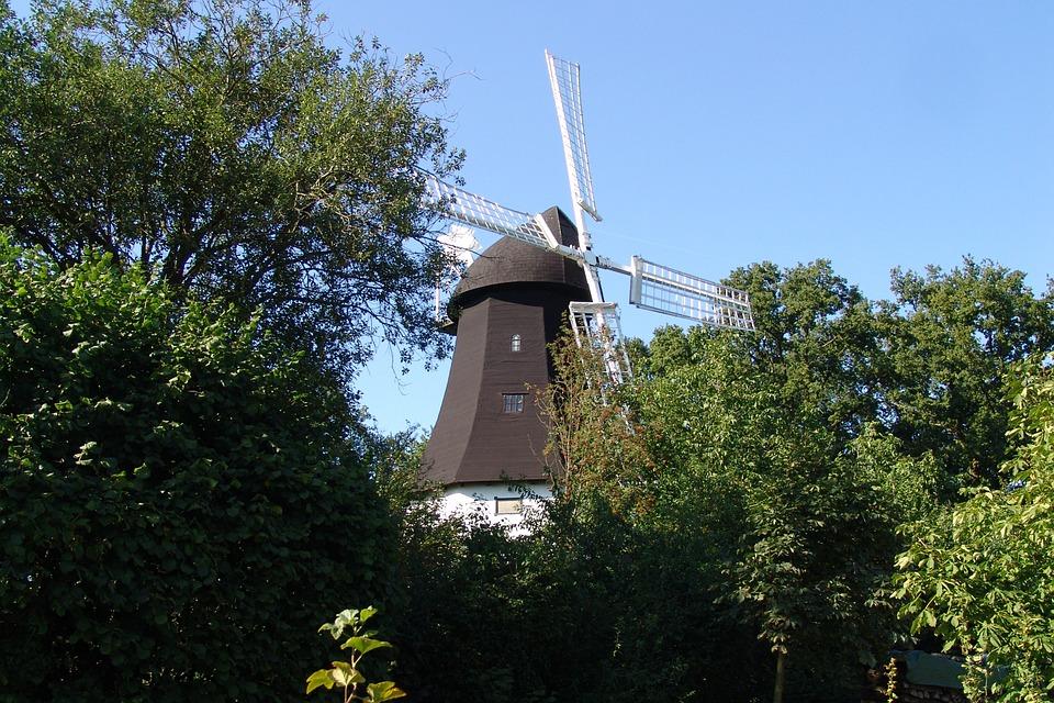 Windmühle Lüneburger Heide
