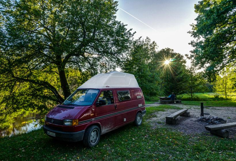 Estland Camping in der Natur