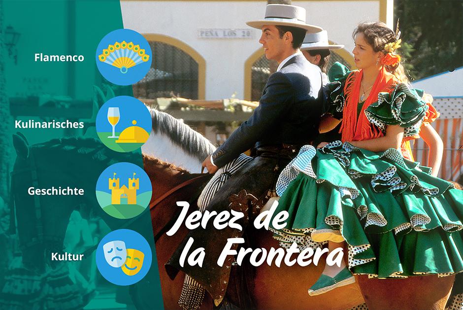 Jerez de la Frontera auf einem Wohnmobil Roadtrip