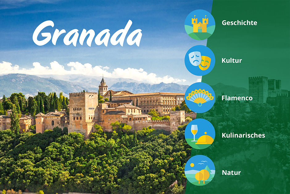 Granada Roadtrip Sonne Andalusien