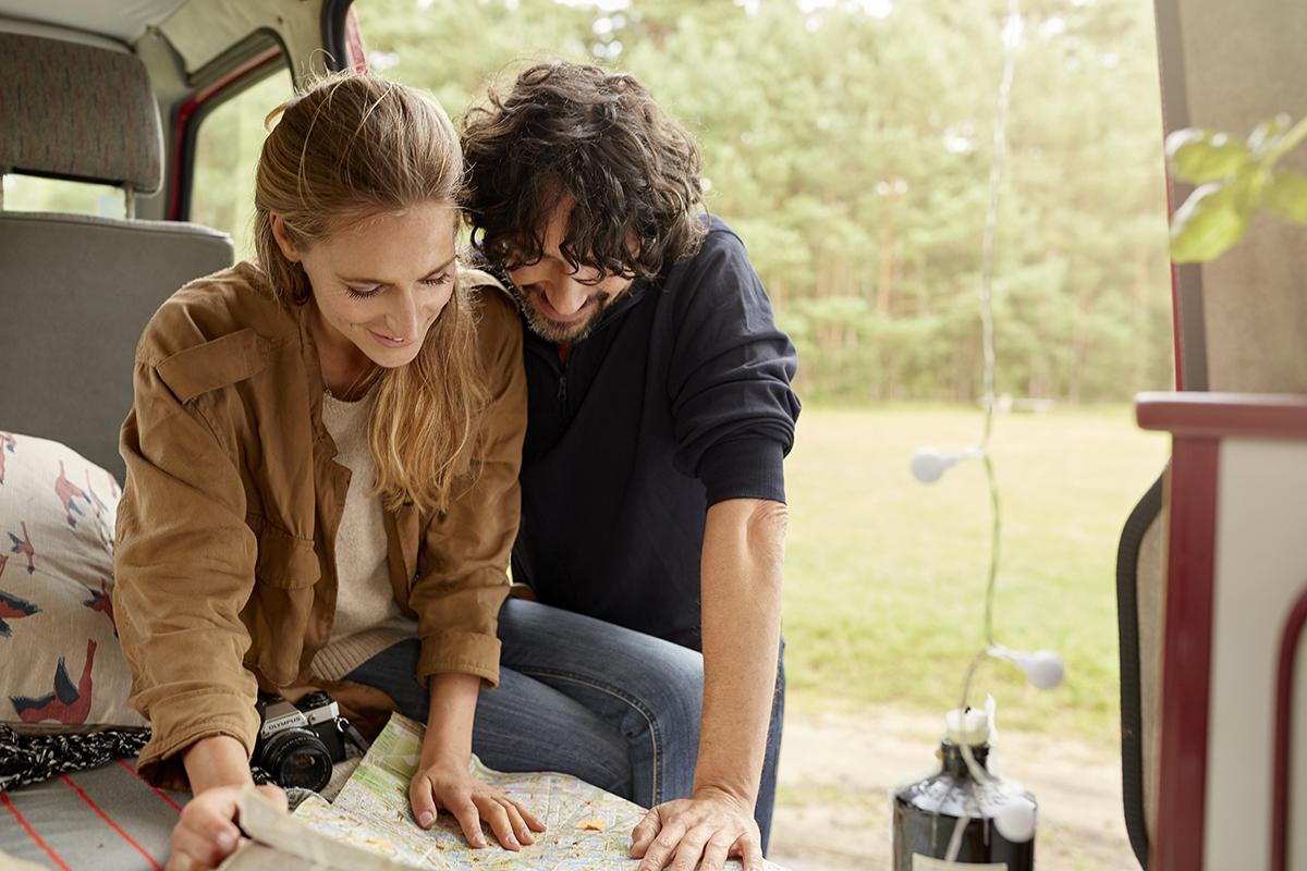 Macht euch einen groben Plan, bevor eure Wohnmobilreise startet