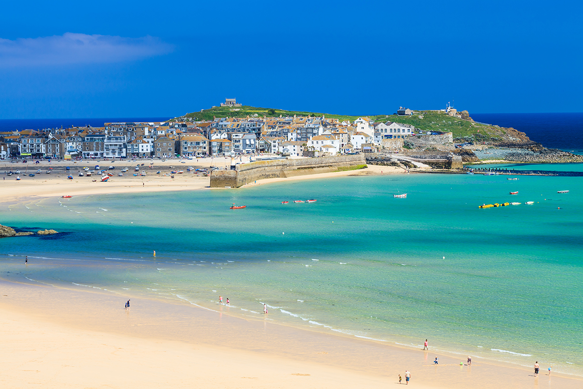 Strand in Cornwall