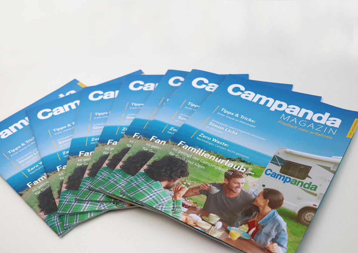 Veröffentlichung des ersten Campanda Magazins – Tipps und Inspiration für einen gelungenen Wohnmobiltrip