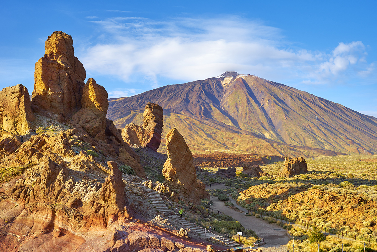 Panorama des Teide Nationalparks