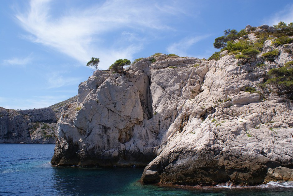Felsige Küste bei Marseille