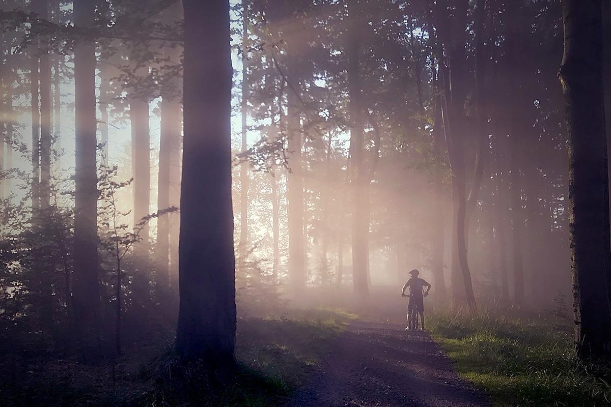 Rad fahren in der Eifel