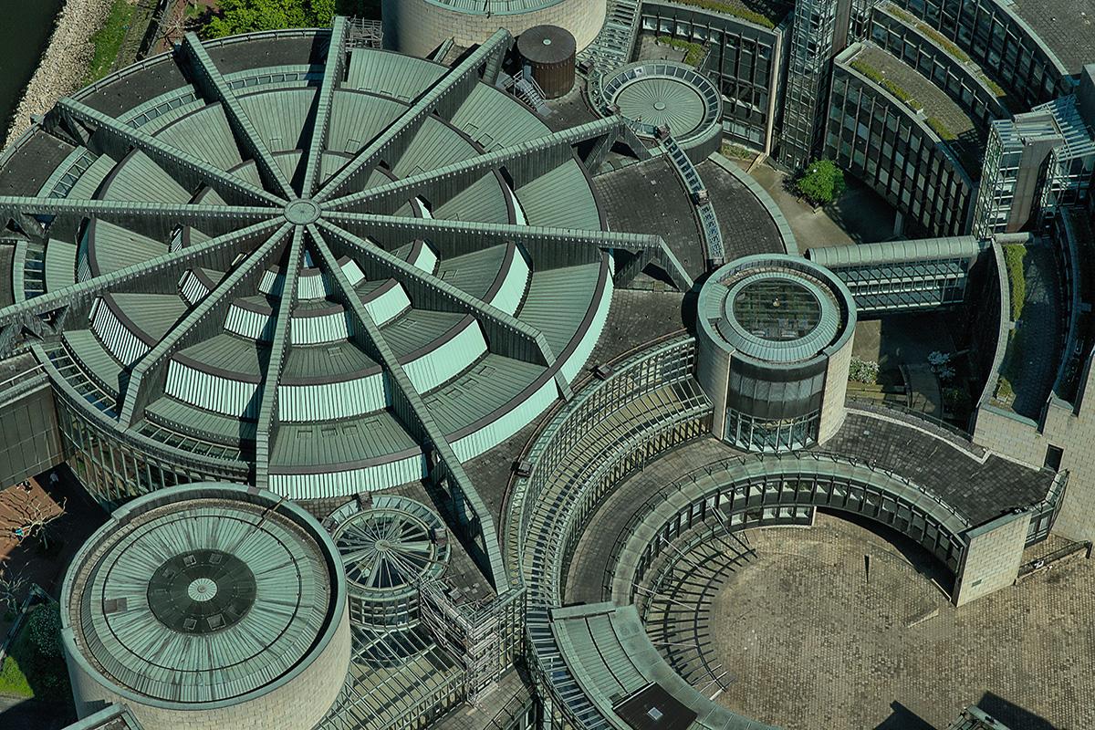 Das Landtagsgebäude Nordrhein-Westfalens
