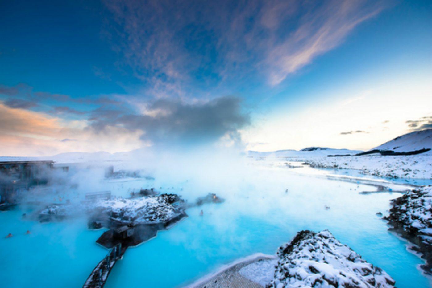 Blick auf die Blaue Lagune