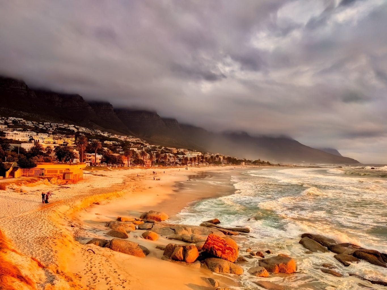 Strand von Kapstadt in Südafrika