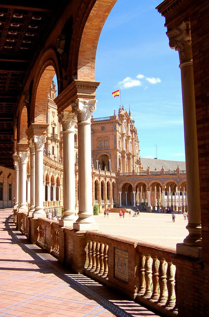 Gebäude in Sevilla, Spanien.