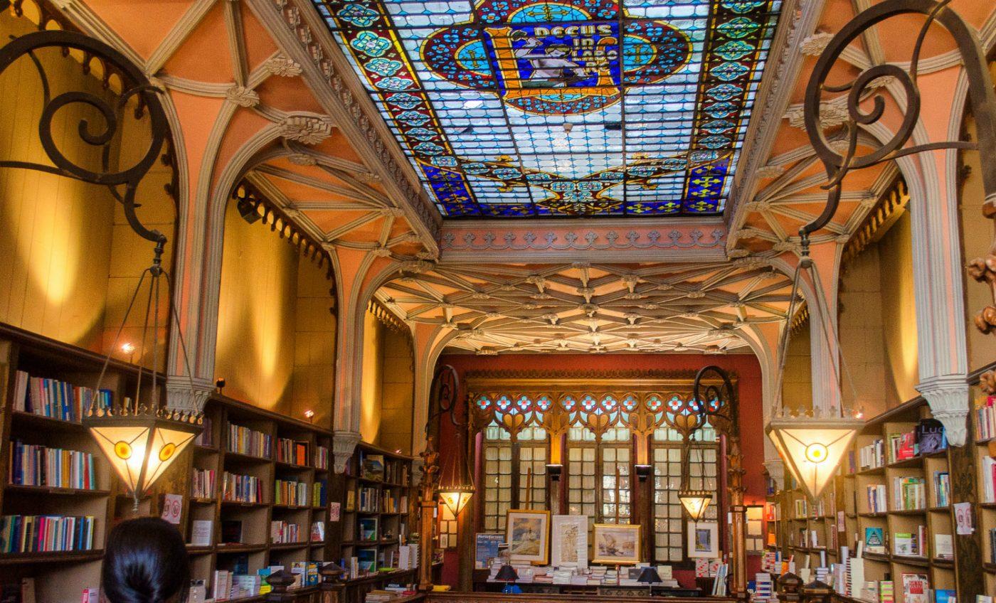 Die Lello Buchhandlung in Porto