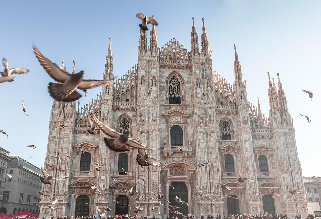 Der Dom in Mailand, Italien.