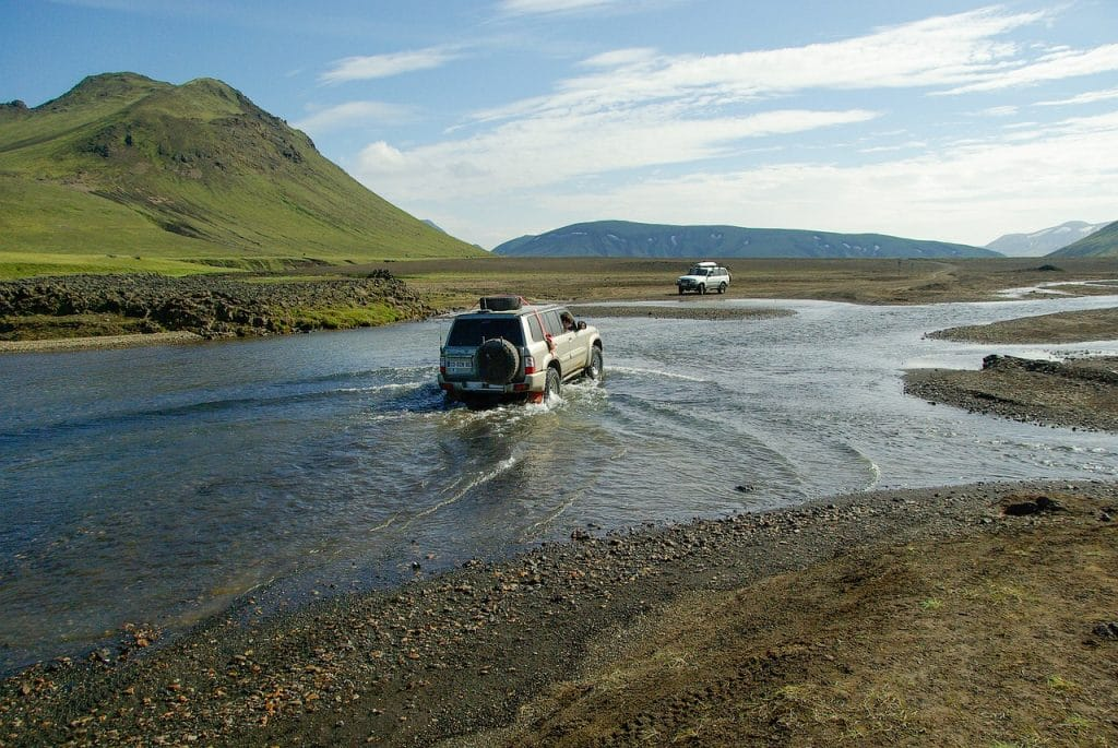 Furte in Landmannalaugar